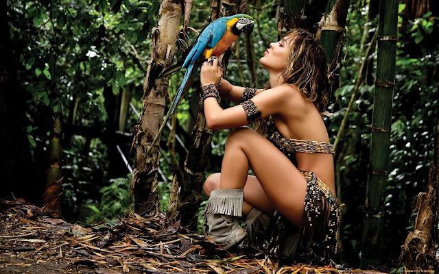 """AMAZON"" RAPED AND KILLED IN THE AMAZON"