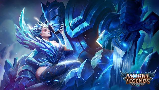 Mobile Legends Hero Magic Aurora ( Queen of the North ) New Hero Mei 2017