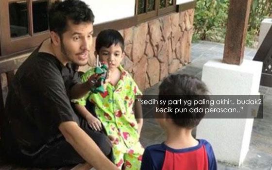 Video Dato' Aliff Syukri Bersama Anak Angkatnya Buat Ramai Sebak