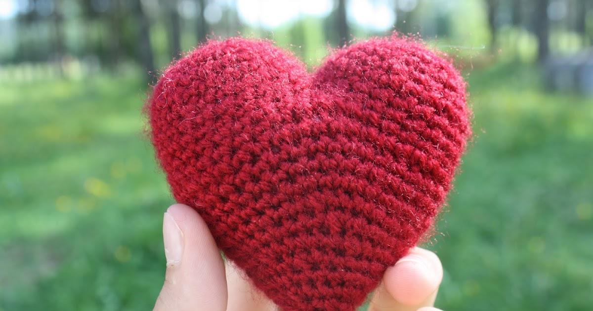amigurumi hjärta mönster gratis