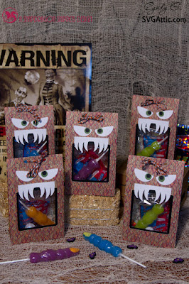 Monster treat bags