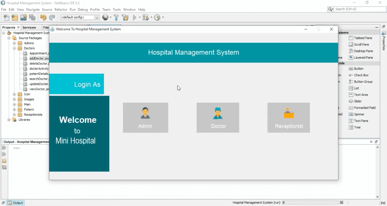 Clinic Management System Project in Java with Source Code | Source