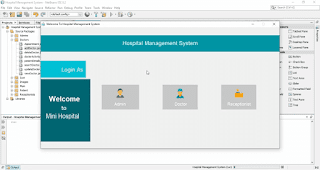 Clinic Management System Project in Java with Source Code