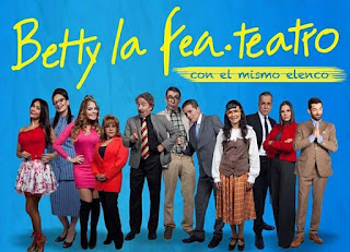 BETTY LA FEA en teatro 2019