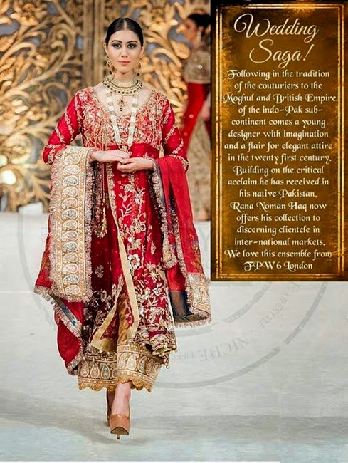 Rana Noman - Bridal Dress Collection 2014-2015