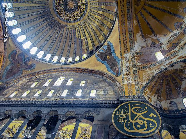 Arcángeles Bóveda de Santa Sofia, Estambul por El Guisante Verde Project