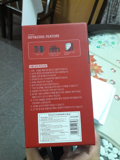 Đánh giá bình giữ nhiệt Lock&Lock New Basic Table LHC4026, 500ml