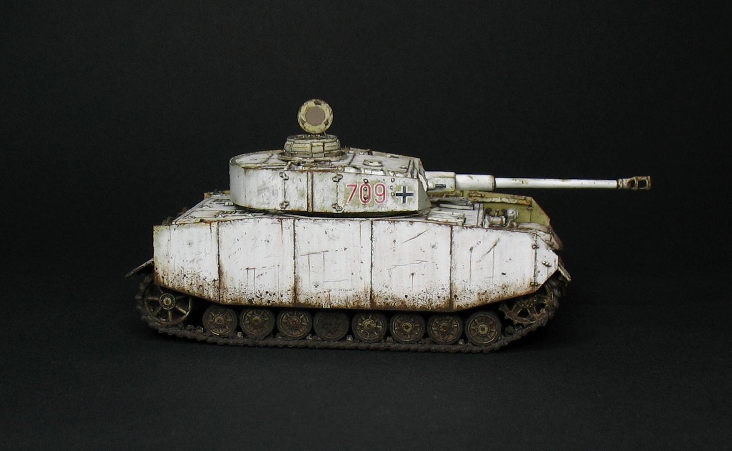 Model72 Miniatures: Panzer IV Ausf. H - Revell 1/72 - vol.2