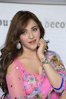 Angela Krislinzki Rogue Movie Fame Telugu Actress in Saree Backless Choli 021.JPG