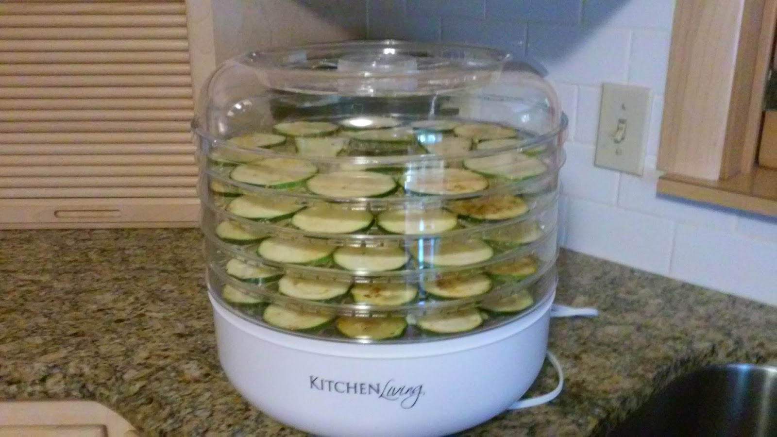 Kitchen Living Food Dehydrator Aldi