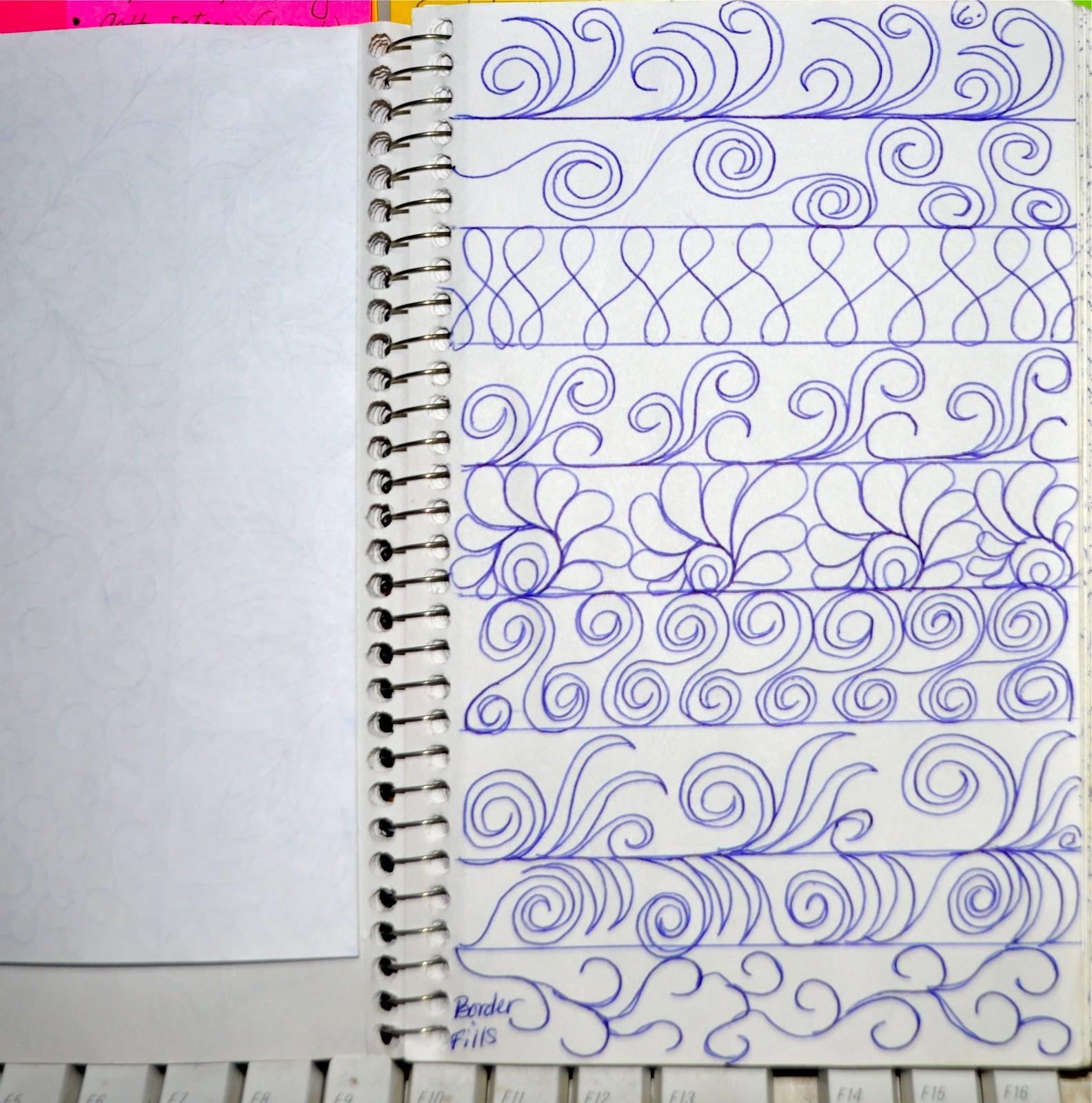 LuAnn Kessi: Sketch Book.....Border Designs