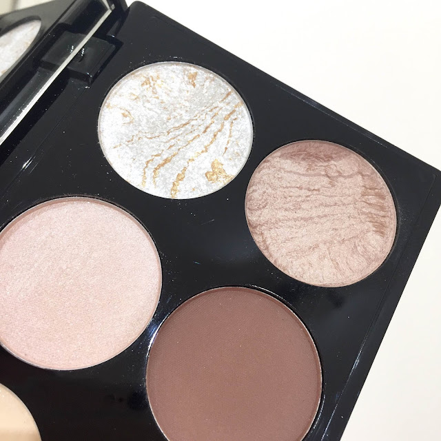 Makeup Revolution Contour Kit Swatches