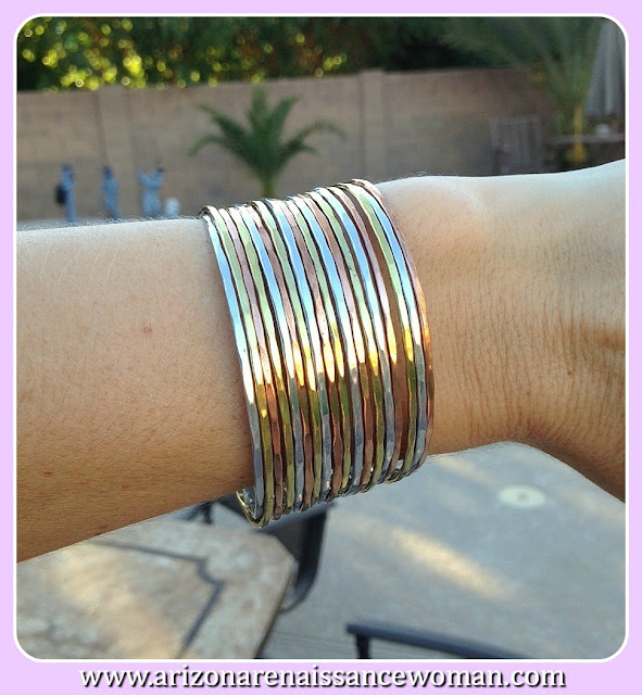 Zad Valerie Layered Metal Cuff - Stitch Fix Review September 2015