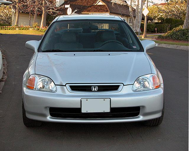 1996 1998 1999 2000 Civic Body Differences And Front And