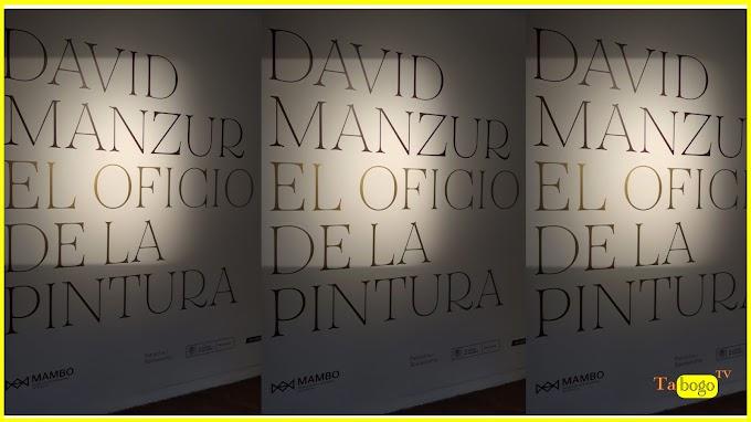 David Manzur, El oficio de la pintura.