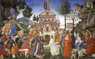 Tentacoes de Cristo %2528Botticelli%2529 - Vaticano