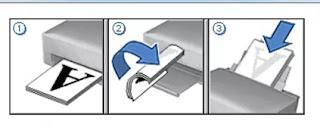 Petunjuk print bolak balik di HP