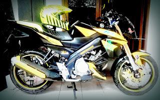 Modifikasi Yamaha Vixion 25
