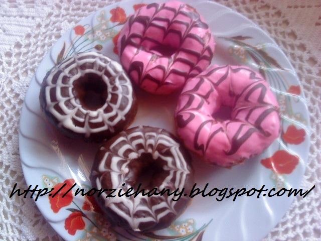 Norzie hany: Donut Topping Coklat/Strawberry