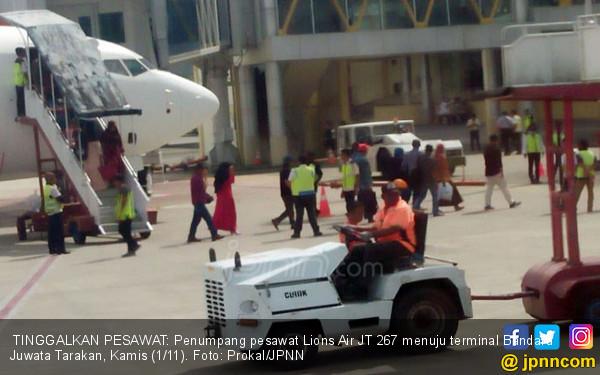 Lion Air Bermasalah Lagi, Penumpang Diturunkan 2 Kali
