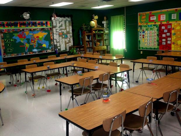 High School Classroom Set Up