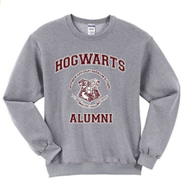 Top 20 Harry Potter Wishlist Items that I need in my life Hogwarts Alumni sweatshirt