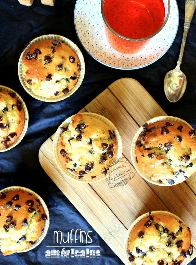 muffins pepites chocolat