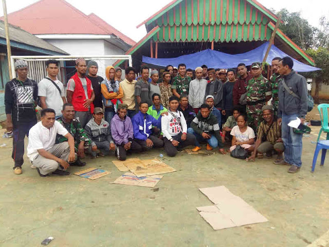 Yustinus Nono Yulianto Ajak Warga Sampuabalo dan Gunung Jaya Cegah Konflik Meluas