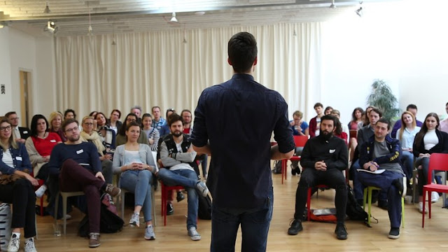 It's not that Scary: A Beginner's Guide to Public Speaking