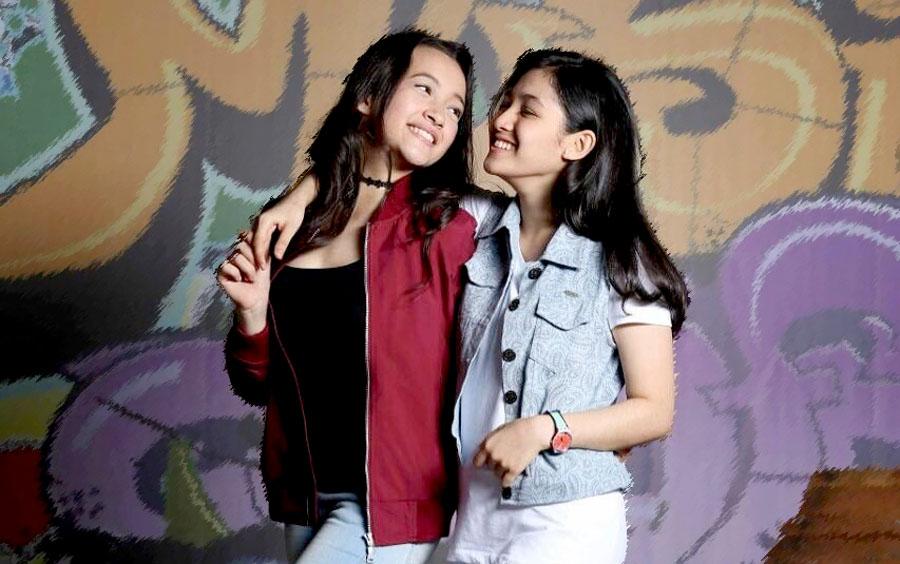 Foto Megan dan Cut Syifa