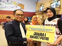 Tim Basket Putra dan Putri Universitas Teknokrat Indonesia Juara POMDA Lampung 2019