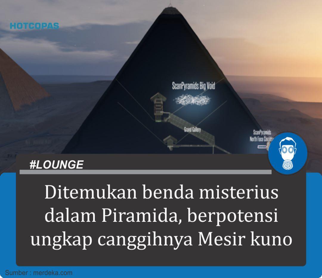Ditemukan Benda Misterius Di Dalam Piramida Berpotensi Mengungkap