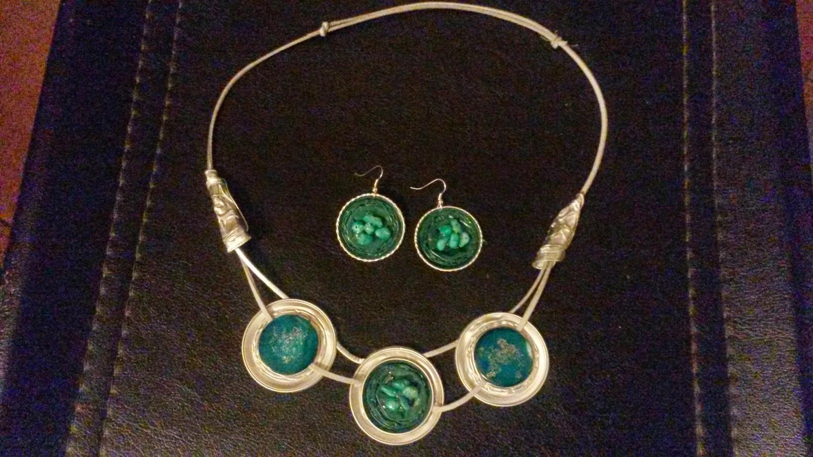 Eccezionale Katia : collane spille orecchini con cialde del caffè HB81