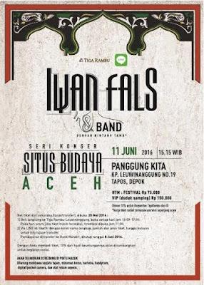 Konser Iwan Fals Situs Budaya Aceh