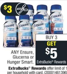 Any ensure, Glucerna or Hunger Smart
