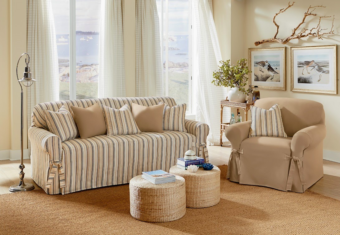 Sure Fit Slipcovers Nothing Says Chic Like A Dose Of Stripes