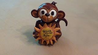 Monkey Urn, Monkey Keepsake Urn, Sunshine Urn