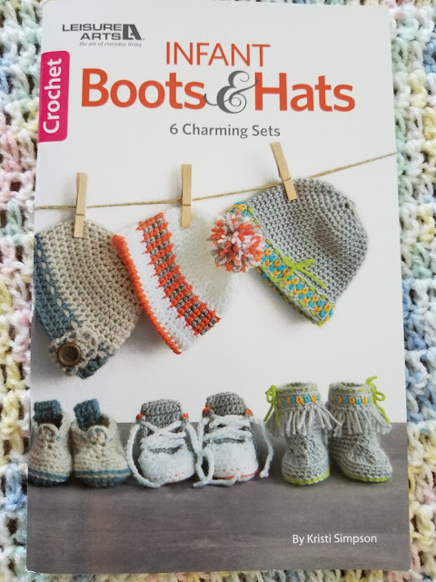 Crochet patterns for infant boots and hats
