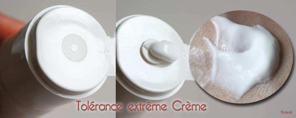 crème aspect Tolérance extrême