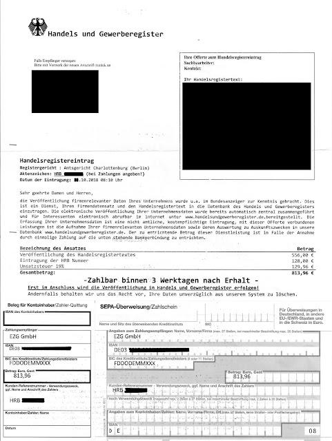 Scan: Offerte EZG GmbH / Oktober 2018