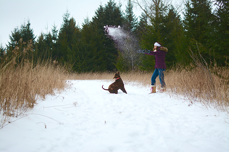 Grace; snow fun | My Darling Days Blog