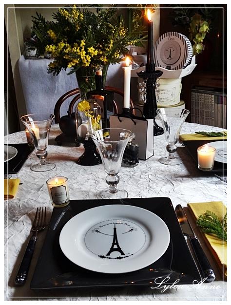 lylou anne collection ma table un air de paris sous le. Black Bedroom Furniture Sets. Home Design Ideas