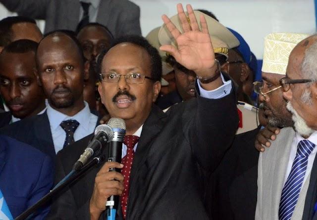 Somalia's President Mohamed Abdullahi Mohamed, faces delicate balancing act