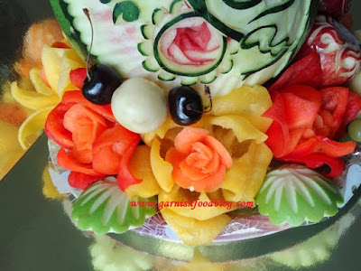 vegetable edible arrangement for wedding
