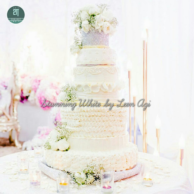wedding cake design by leen azi