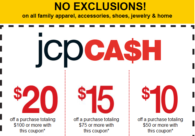 Jcpenney coupons 20 off 50 / Usave car rental coupon codes