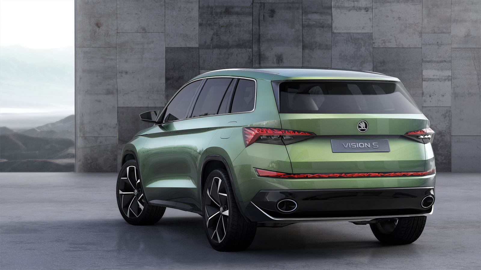 Skoda Kodiak Suv Might Get Vrs Coupe Versions Carscoops Com