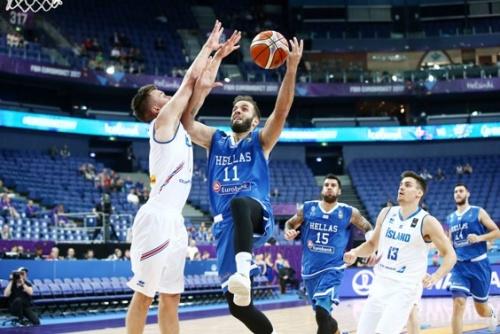 Ανετη επικράτηση στην πρεμιέρα του Ευρωμπάσκετ για την Εθνική Ανδρών-Κέρδισε με 90-61 την Ισλανδία