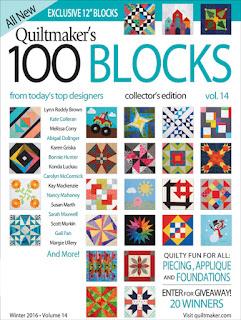 http://www.quiltmaker.com/blogs/quiltypleasures/tag/100-blocks-vol-14-blog-tour/