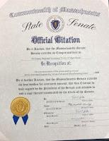 Official Citation